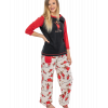 Almoose Asleep | Women's Fitted PJ Set (XS)