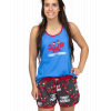 Crabby | Women's Tanks & Shorts Set (XL)