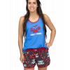 Crabby | Women's Tanks & Shorts Set (XS)