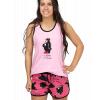 Bear In The Morning | Women's Tanks & Shorts Set (L)
