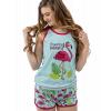 Dream Of Paradise - Flamingo | Women's Tanks & Shorts Set (M)