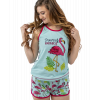Dream Of Paradise - Flamingo | Women's Tanks & Shorts Set (XL)