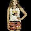Don't Moose With Me | Women's Tanks & Shorts Set (XS)