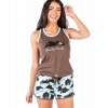 Bearly Awake | Women's Tanks & Shorts Set (XL)