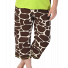 Looong Day - Giraffe | PJ Capri Pants (XS)
