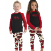 Allover Bear Check | Kid PJ Set (3T)