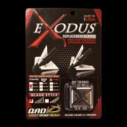 QAD Exodus Broadhead Replacement Blades-Full Blade