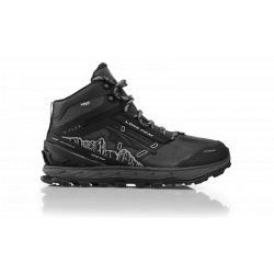 Altra Lone Peak 4 Mid RSM Trail Shoes-Black-9 D