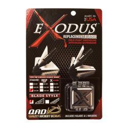 QAD Exodus 125 Grain Broadhead Replacement Blades-Full Blade