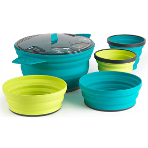Sea To Summit X Set 31 - 5 Piece Collapsible 2-Person Cooking Set-5-Piece