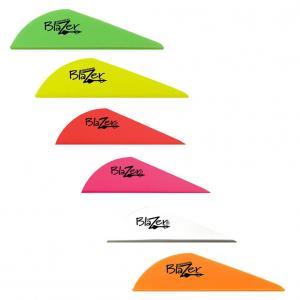 Bohning Blazer Vanes 100 pack-Neon Orange/100 Pack