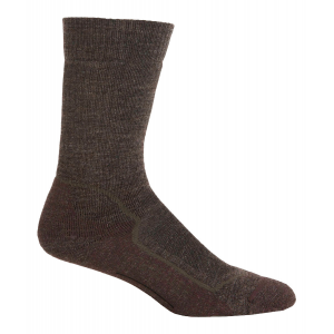Icebreaker Hike+ Mid Crew Socks-Jet Melange/Planet/Black-XL