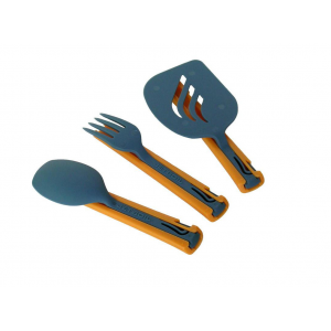 Jetboil Jetset Utensil Set-Orange/Blue-One Size