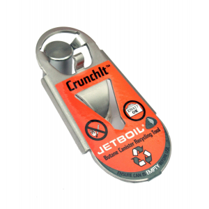 Jetboil CrunchIt Fuel Canister Recycling Tool-Silver-One Size