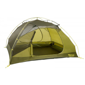 Marmot Tungsten 4 Person Backpacking Tent-Green-4 Person