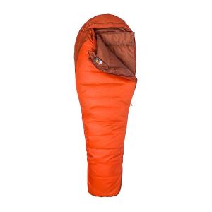Marmot Trestles 0 Synthetic Sleeping Bag-Regular-Left Zip/Orange Haze/Dark Rust