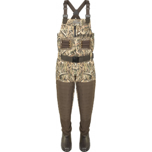 Drake Guardian Elite(TM) Uninsulated Breathable Chest Wader-Mossy Oak Shadow Grass Blades-9-Regular