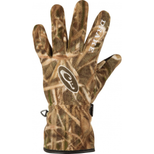 Drake MST WINDSTOPPER Fleece Gloves-Mossy Oak Shadow Grass Blades-Medium