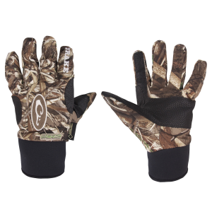 Drake Refuge HS Early Season Gore-Tex Glove-Realtree Max-5-Medium