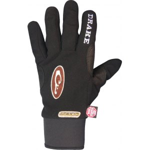 Drake Windstopper Fleece Shooter's Glove-Black-Medium
