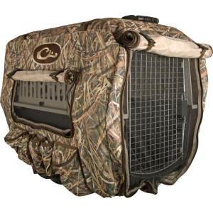 Drake Deluxe Adjustable Kennel Cover-Realtree Max-5-One Size