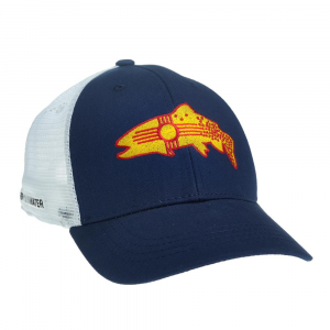 Rep Your Water New Mexico Clarkii Hat-Navy Blue