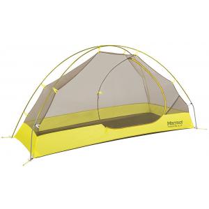 Marmot Tungsten Ultralight 1 Person Tent-Dark Citron/Citronelle
