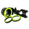 Spot Hogg Grinder MRT Micro Adjust Archery Sight-Left Hand/5 pin/.019
