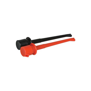 TEST CLIP,MINI LONG,1RED/1BLK,