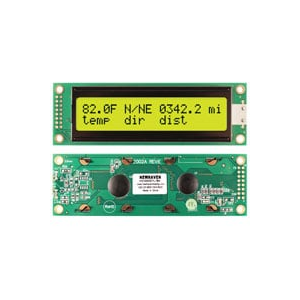 DISPLAY,LCD,20x2,PARALLEL,5V