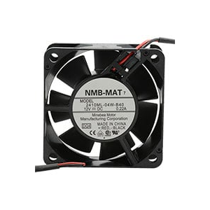 FAN,12VDC,19CFM,60X60X25,BALL