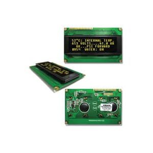 DISPLAY,OLED,20x4,YELLOW ,3&5V