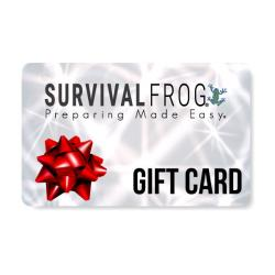 Survival Frog e-Gift Card