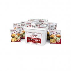 LEGACY FOODS 120 SERVINGS EMERGENCY FOOD ENTREE BUCKET