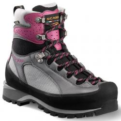 Scarpa Charmoz Pro GTX Mountaineering Boots - Women's Silver/dahlia