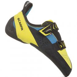 Scarpa Vapor V Rock Climbing Shoe - Men's Ocean/yellow 42.0