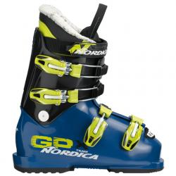 Nordica GPX Team Ski Boot - Kid's Blue/lime 27.5