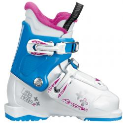 Nordica Little Belle 2 Boots - Kid's White/blue 23.5