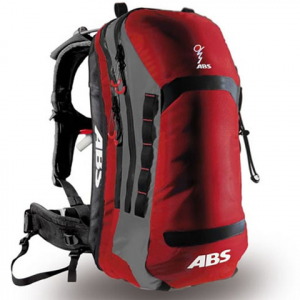 ABS Vario 25L Backpack Red/grey Os