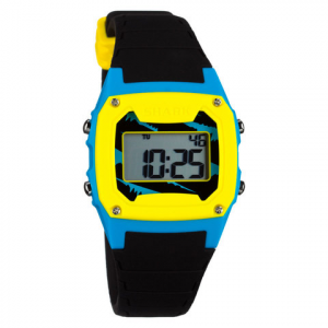 Freestyle Shark Classic Silicone Watch Black/blue/yellow Ea