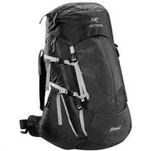 Image of Arc'teryx Altra 62 LT Backpack - Womens Carbon Copy Reg/tall