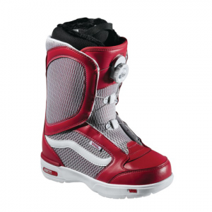 Vans Encore Womens' Snowboard Boot - Women's  Red/white 10.0