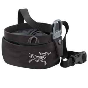 Image of Arc'teryx Aperture Chalk Bag - Large Black Lg