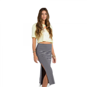 Billabong Higher Love Skirt - Womens Midnight