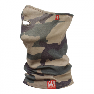 Image of Air Hole Airtube Ergo Facemask Jungle Camo M/l