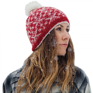 Ambler Mountain Works Yanaha Beanie Ruby Os