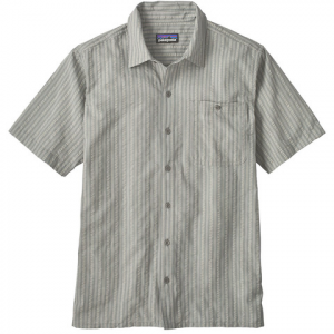 Patagonia Puckerware Shirt - Mens Twisted Check Drifter Grey Sm