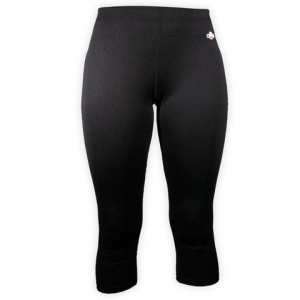 Hot Chillys Micro-Elite Chamois Capri Tights - Women's  Black