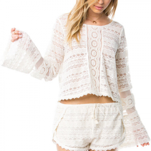 Amuse Society Hideaway Knit Top - Women's Swt