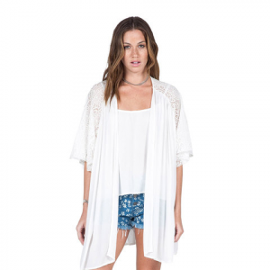 Volcom Cactus Flower Throw - Women's White Osfm